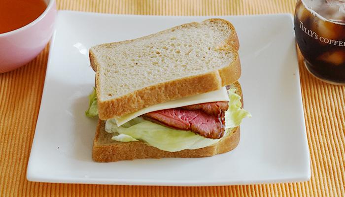 低糖質パン サンドイッチ